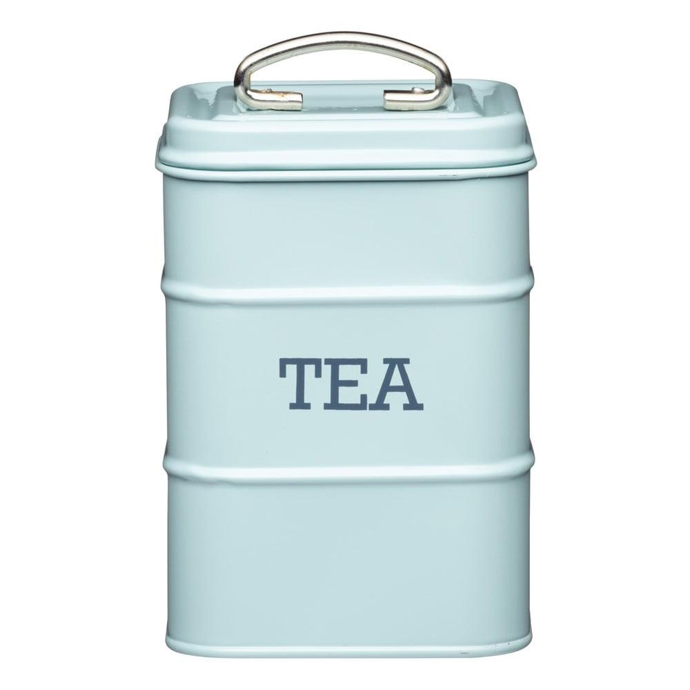 Modrá plechová dóza Kitchen Craft Tea
