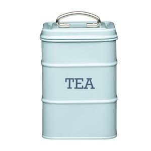 Modrá plechová dóza na čaj Kitchen Craft Tea
