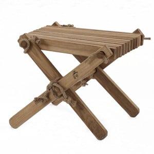 Stolička z dubového dřeva EcoFurn Lili