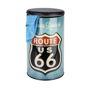 Coș rufe retro Wenko Route 66
