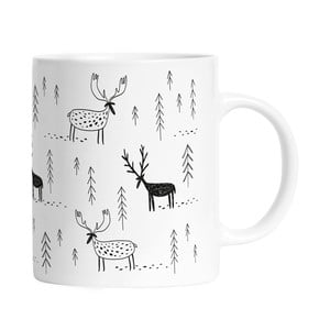 Hrnek Black Shake Deer Forest, 330 ml