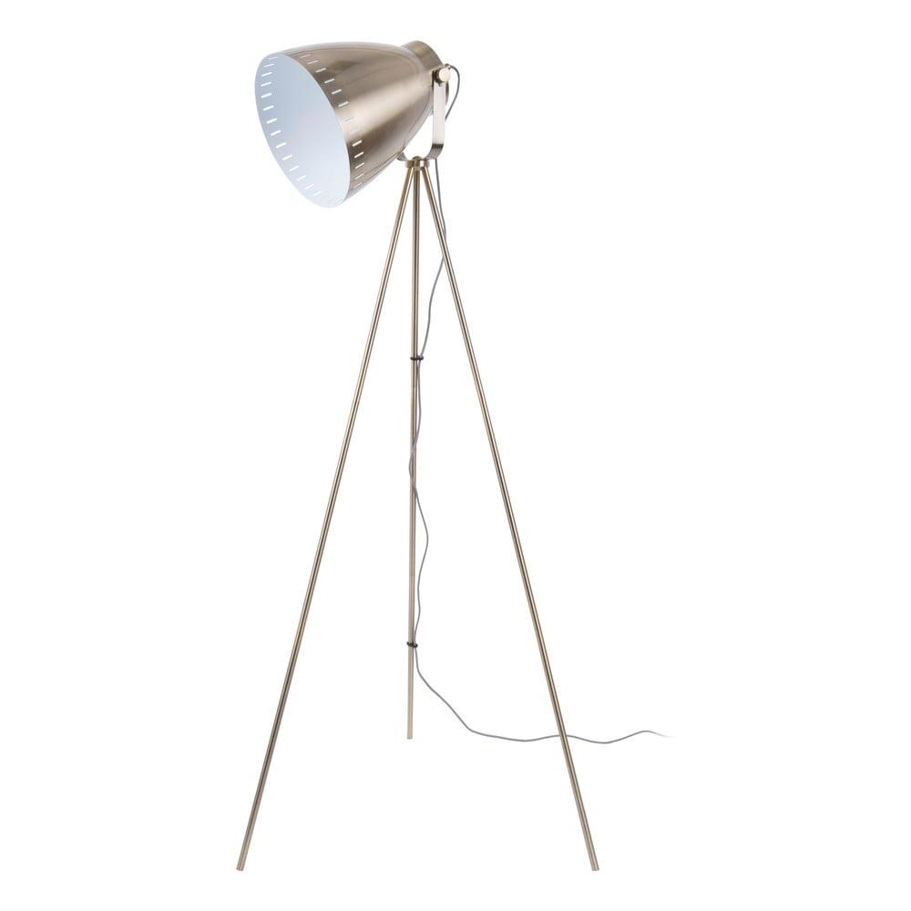 Kovová stojací lampa v bronzové barvě Leitmotic Luxury