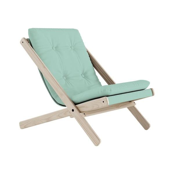 Fotel składany Karup Design Boogie Natural/Mint