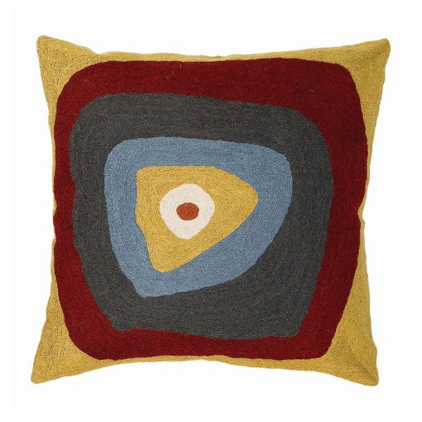 Povlak na polštář Mustard Target, 45x45 cm