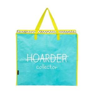 Modro-žlutá nákupní taška na zip Happy Jackson