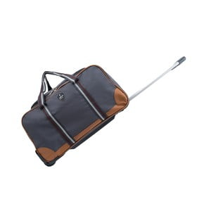 Šedá cestovní taška na kolečkách GENTLEMAN FARMER Sydney, 93 l