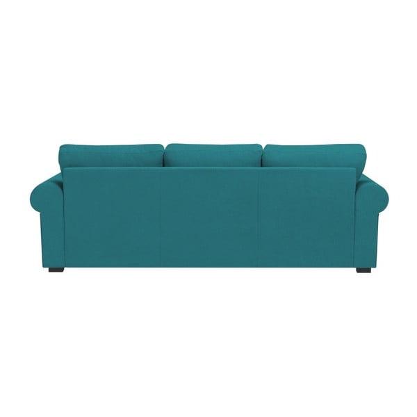 Tyrkysová trojmístná pohovka Windsor & Co Sofas Hermes