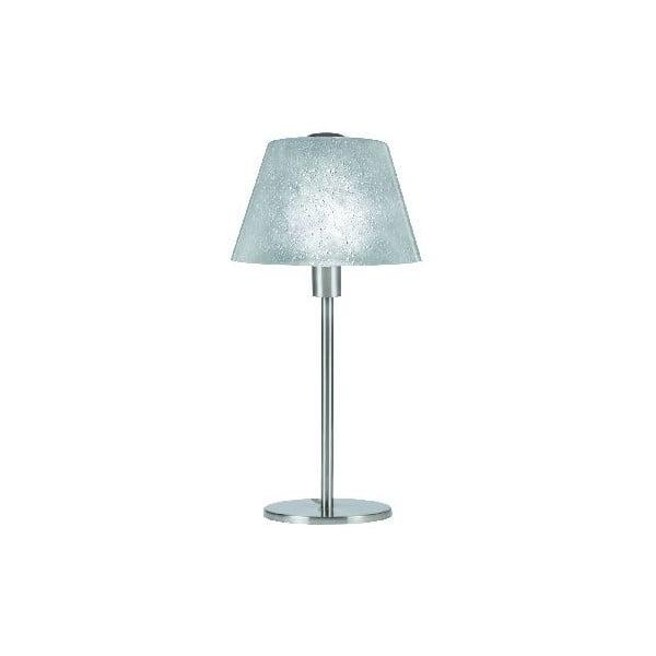 Stolní lampa Victoria, stříbrná