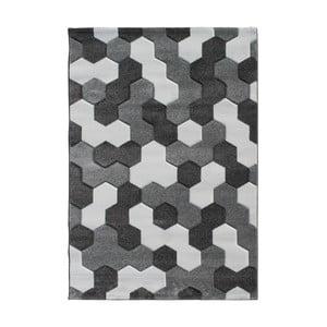 Šedohnědý koberec Tomasucci Mosaiko, 140x190cm