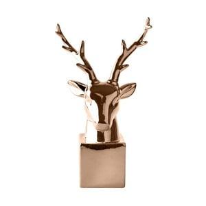 Dekorativní soška Copper Reindeer