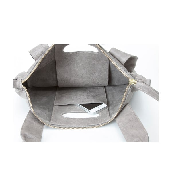 Kožená taška Marilla Cupboard Grey