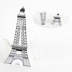 Sada hrnku s konvičkou Eiffelovka