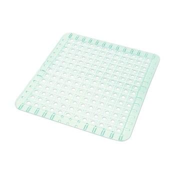Protecție dreptunghiulară pentru chiuvetă, din plastic Addis, 31 x 27 cm, transparentă imagine