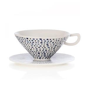 Ručně malovaný porcelánový šálek Seasons Giugno