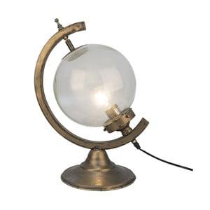 Stolní lampa ve tvaru globusu Clayre&Eef Lissie