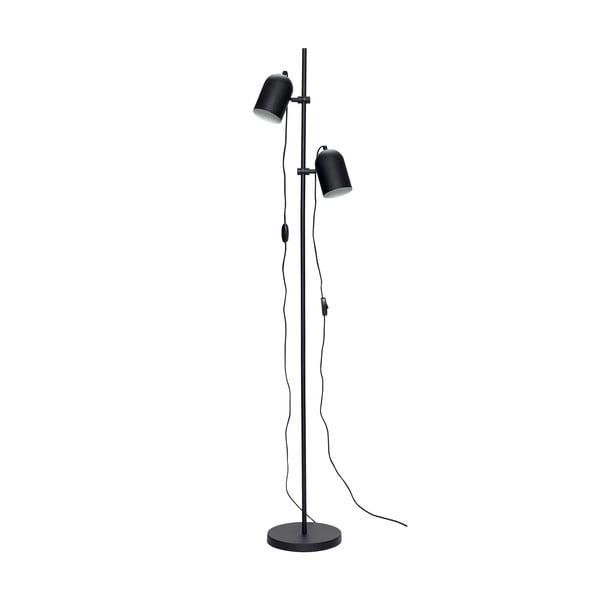 Černá volně stojící lampa Hübsch Firo