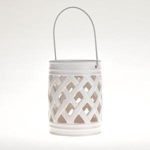 Keramická lucerna White Deco