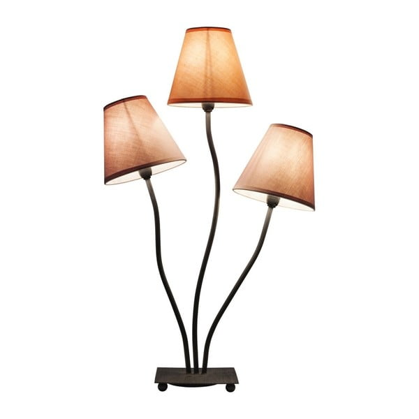 Fialová stolní lampa s 3 rameny Kare Design Flexible