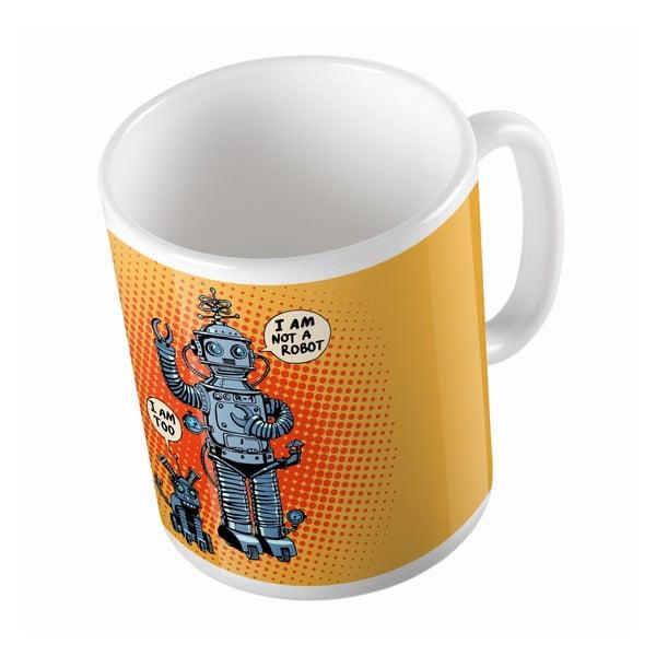 Keramický hrnek I Robot, 330 ml