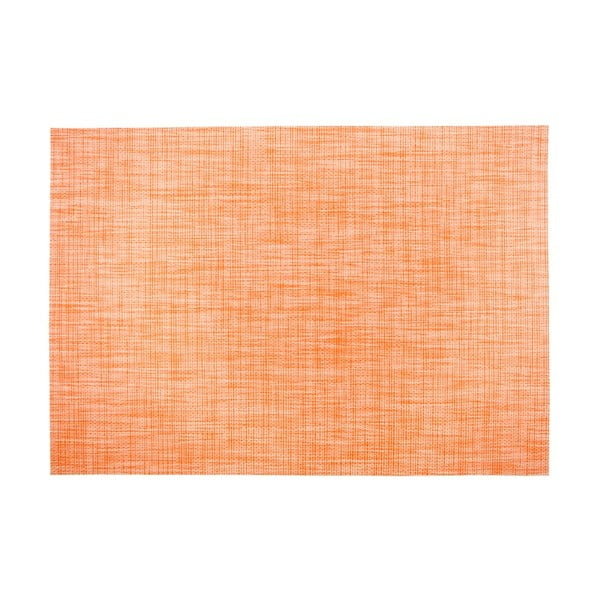 Pomarańczowa mata stołowa Tiseco Home Studio Melange Simple, 30x45 cm