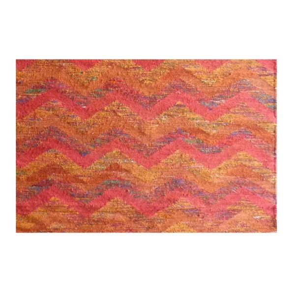 Vlněný koberec Kilim Silk, 155x240 cm