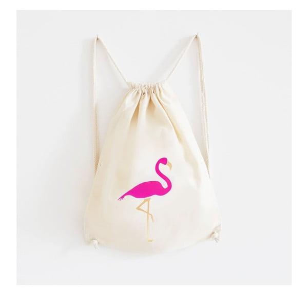 Plátěný batoh Mosaik Flamingo