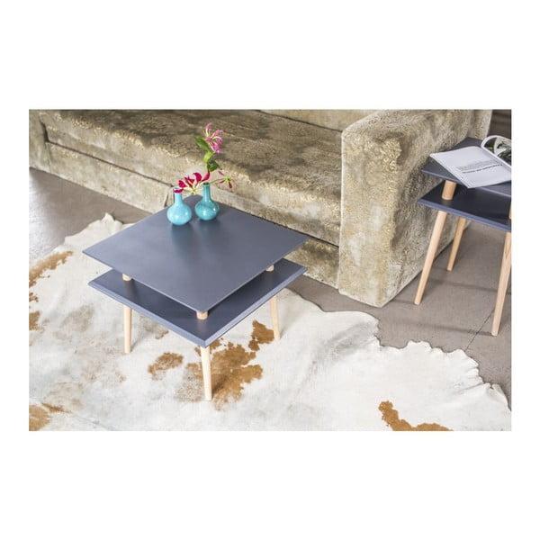 Konferenční stolek UFO Square Light Turquoise, 55 cm (šířka) a 45 cm (výška)