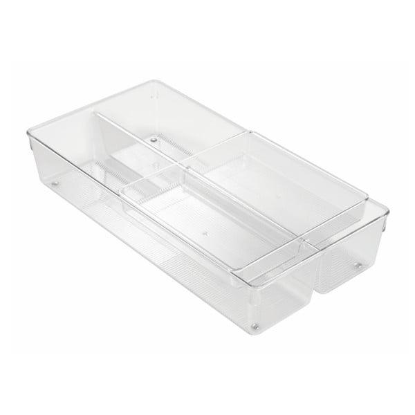 Organizator pentru sertar InterDesign Linus, 20,5 x 41 cm