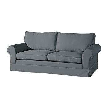 Canapea cu 3 locuri Max Winzer Hilary gri antracit