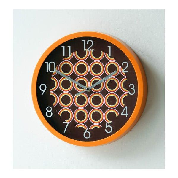 Nástěnné hodiny Halloween, 30 cm
