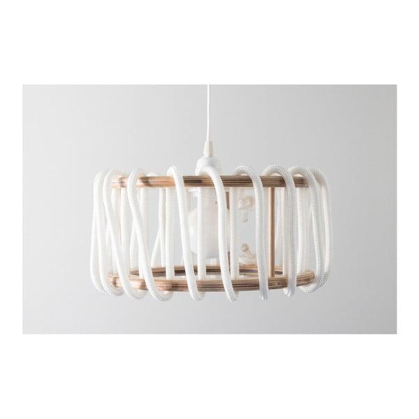 Bílé stropní svítidlo EMKO Macaron, ø 30 cm