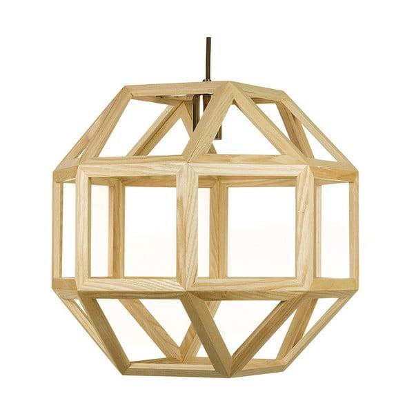 Závěsné svítidlo z jasanového dřeva Santiago Pons Tama