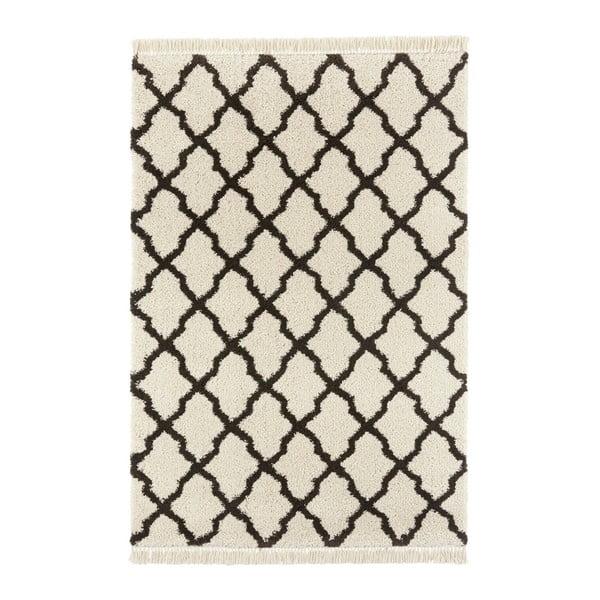 Krémovočerný koberec Mint Rugs Marino, 120x170cm