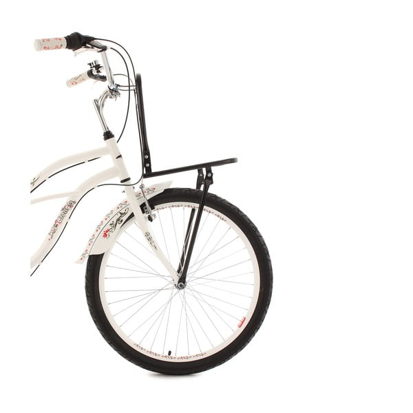 Kolo Beachcruiser Cargo White, 26""