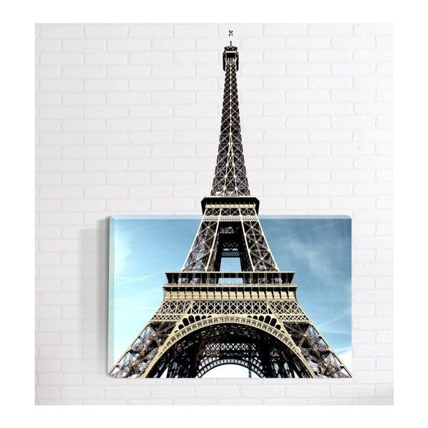 Eiffel 3D fali kép, 40 x 60 cm - Mosticx