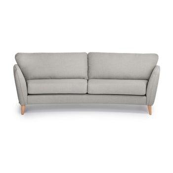 Canapea cu 3 locuri Softnord Paris bej deschis