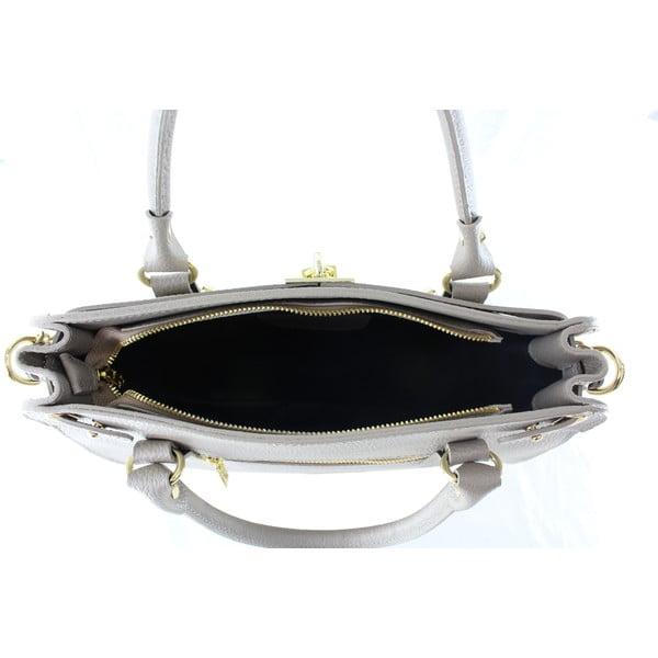 Kožená kabelka Sari, taupe