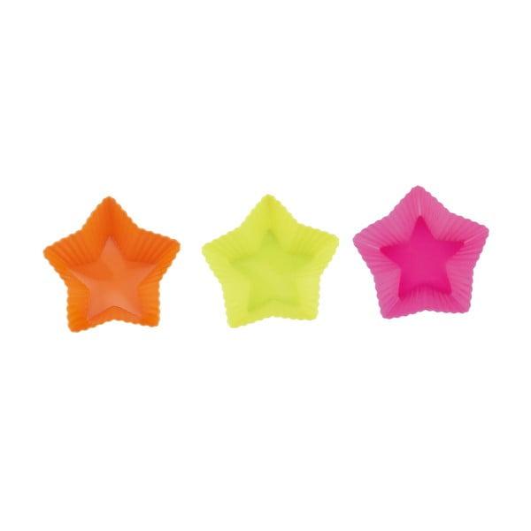 Formy na dortíky Hvězdy, 6 ks