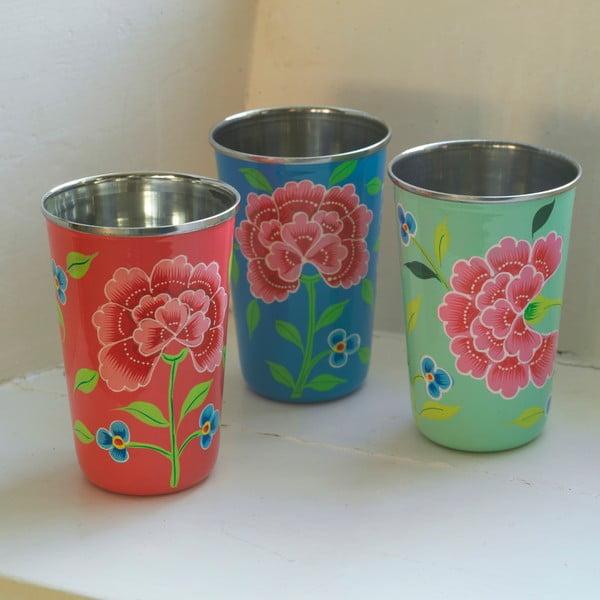 Hrnek Franjipani Floral Cup, modrý
