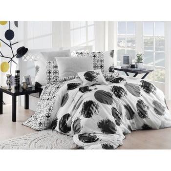 Lejerie de pat cu cearșaf Gizha, 200 x 220 cm de la Nazenin Home
