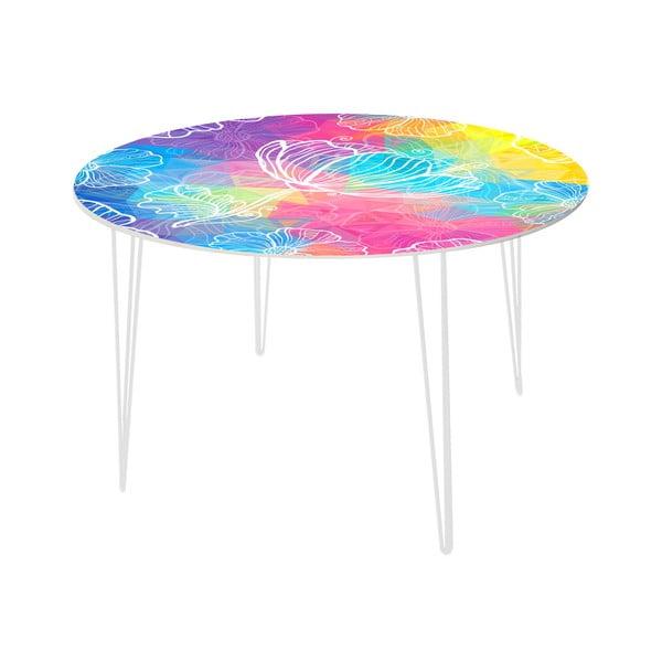 Jídelní stůl Flower Jellyfish, 120 cm