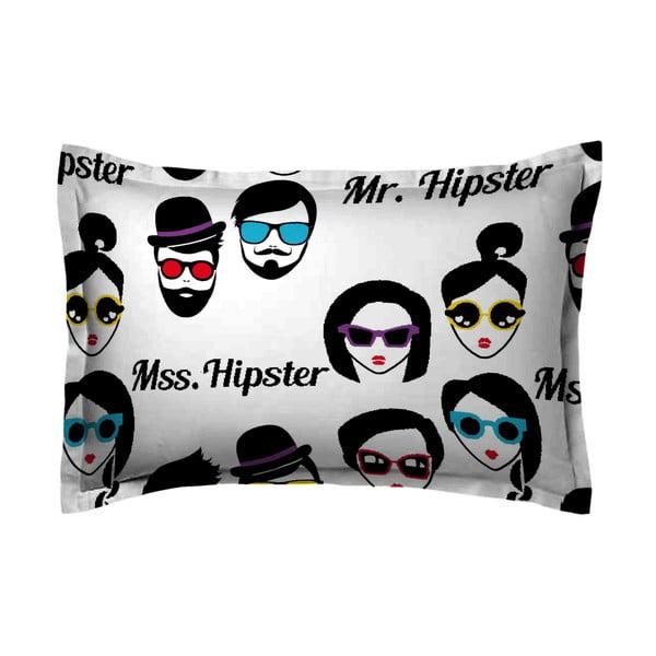 Povlak na polštář Hipster Face, 50x70 cm