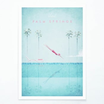 Poster Travelposter Palm Springs, A2 imagine