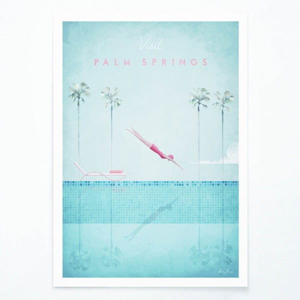 Palm Springs poszter, A3 - Travelposter