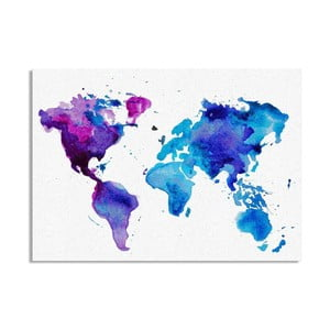 Obraz Really Nice Things Worldmap, 50 x 70 cm