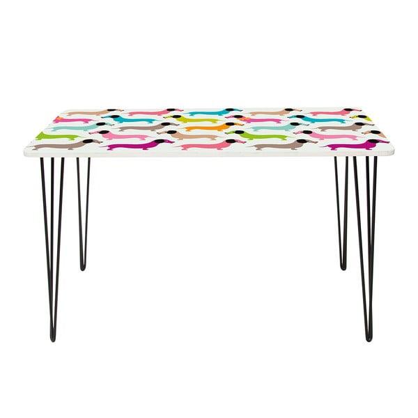 Pracovní stůl Dachshunds In Colours