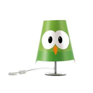 Zelená dětská lampička e-my Lucignolo