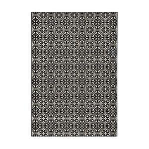 Covor Hanse Home Gloria Pattern, 80x150cm, negru