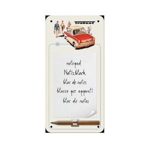 Zápisník na lednici Trabant