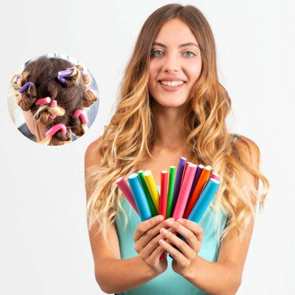 Sada 42 pěnových natáček na vlasy InnovaGoods